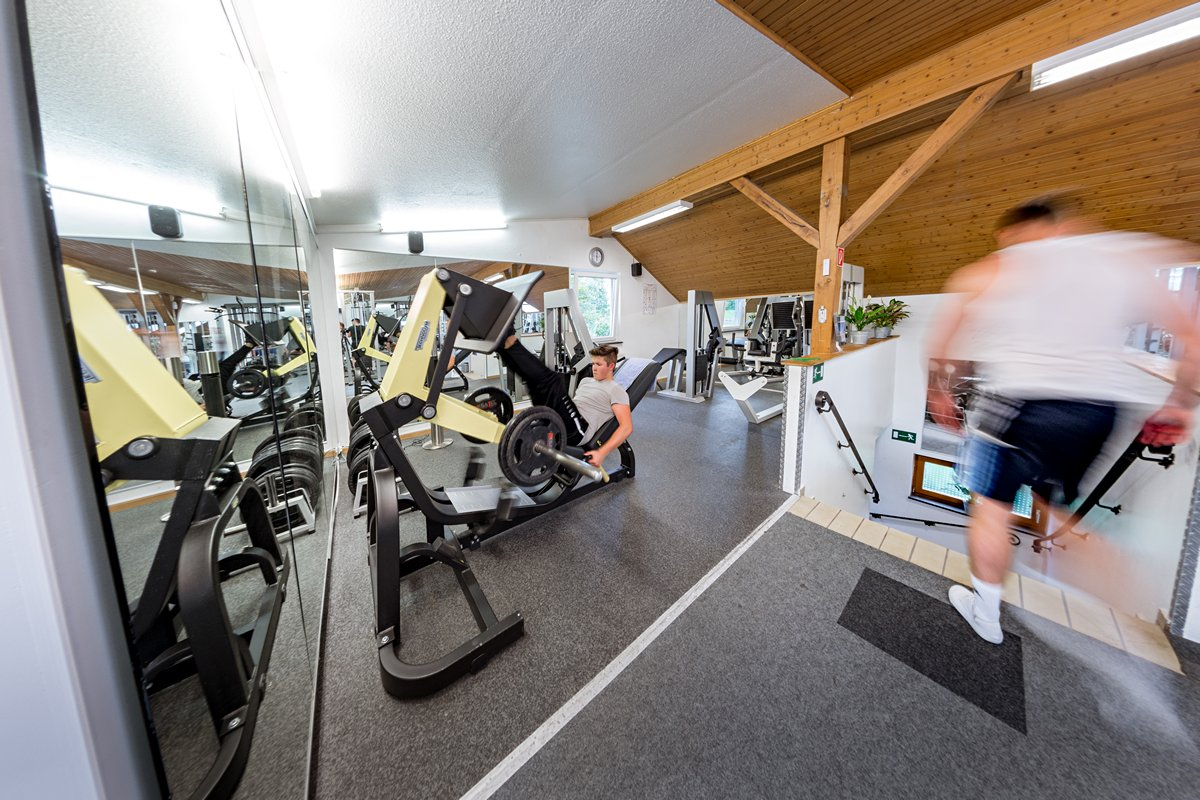 Beinpresse TechnoGym
